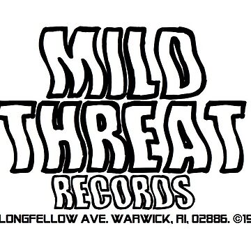 mild threat records by zoevogelsang