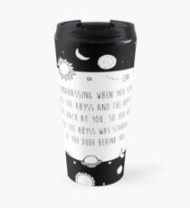 Abyss Gazer Travel Mug