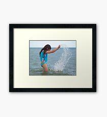 Water Bender Framed Print
