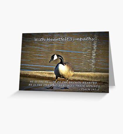With Heartfelt Sympathy... Greeting Card