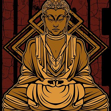 Buddha Hope Meditation Buddhism by Lumio