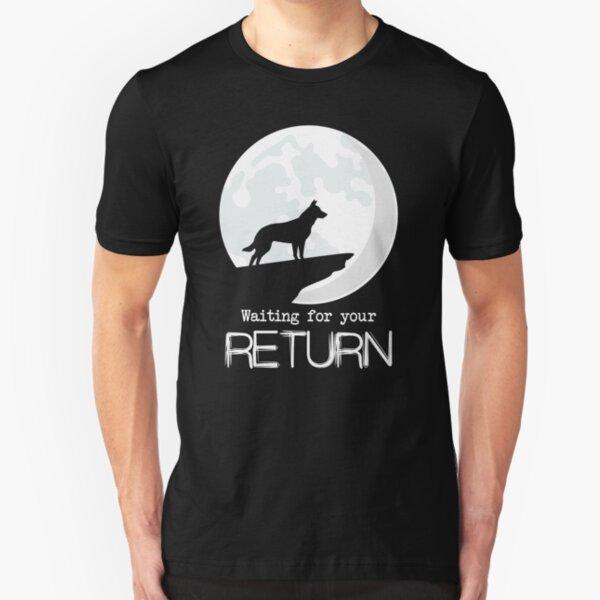 Waiting for return Slim Fit T-Shirt