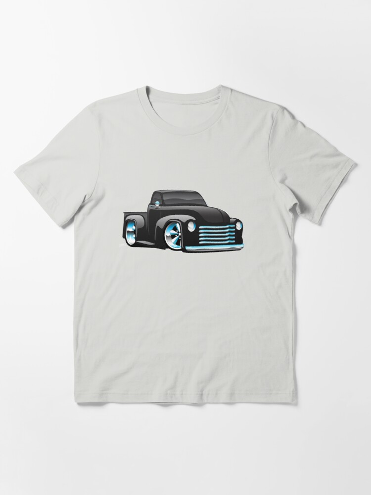 Alternate view of Hot Rod Pickup Truck Cartoon Essential T-Shirt