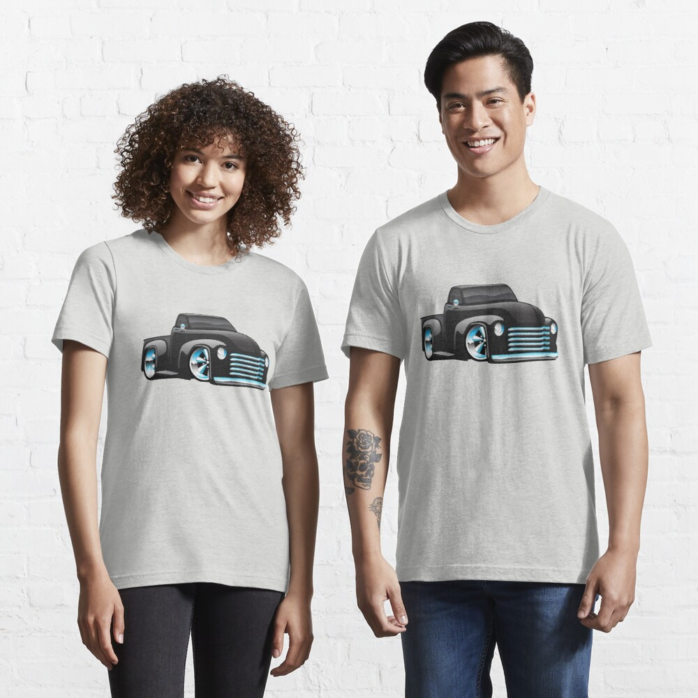 Hot Rod Pickup Truck Cartoon Essential T-Shirt