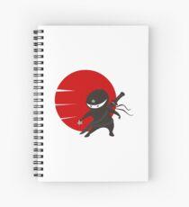 LITTLE NINJA STAR Spiral Notebook
