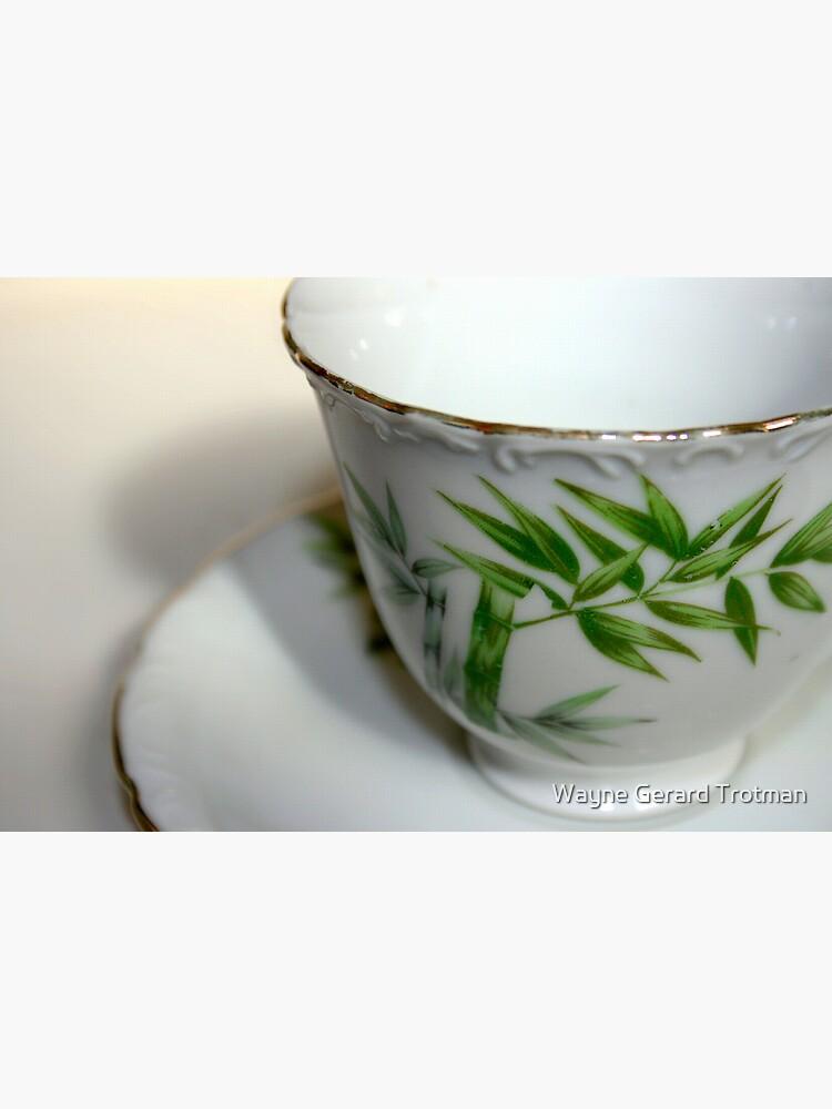 Empty Old Tea Cup by redmoondragon