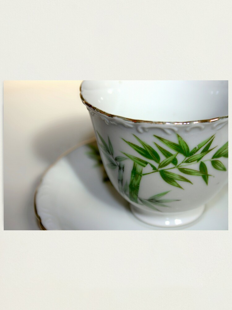 Alternate view of Empty Old Tea Cup Photographic Print