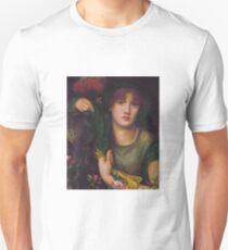 My Lady Greensleeves by Dante Gabriel Rossetti Unisex T-Shirt