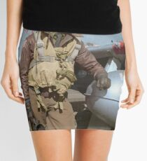 Edward C. Gleed Tuskegee airman — Colorized Mini Skirt