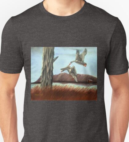 RESTING PLACE, Pastel Painting, for prints and products T-Shirt