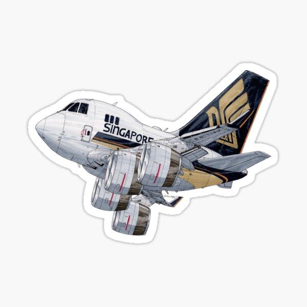 Boeing 747 Singapore Cargo Sticker