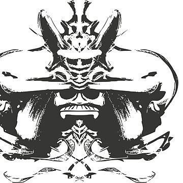 Samurai T-shirt by jaser018