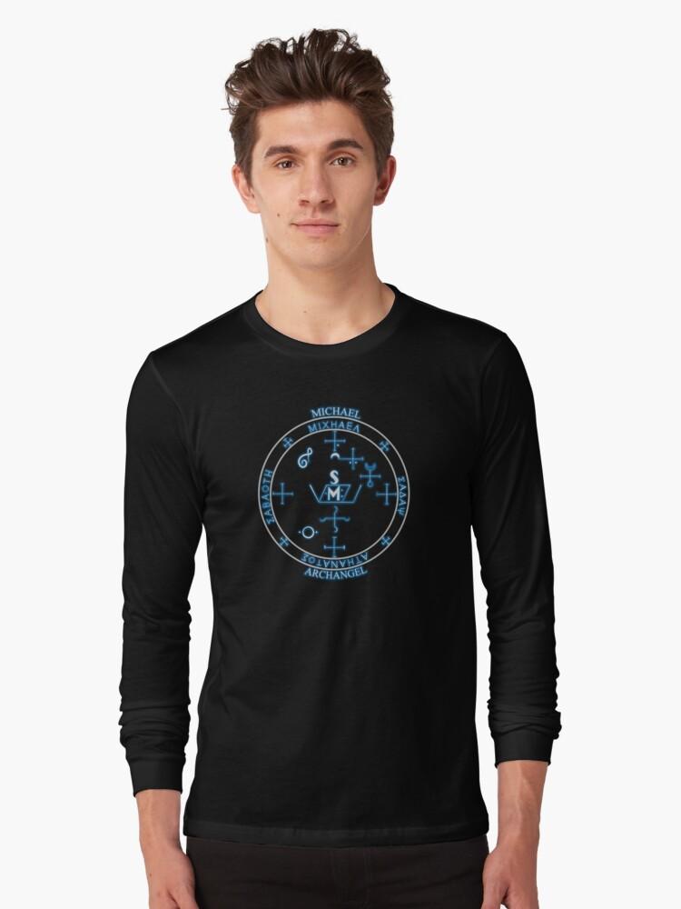 'ARCHANGEL MICHAEL sigil seal' T-Shirt by MortalDesigns