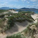 Sand dunes on Faraid Head, Durness Scotland by Mishimoto
