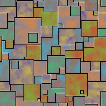 Heavy Square Pattern by ianablakeman
