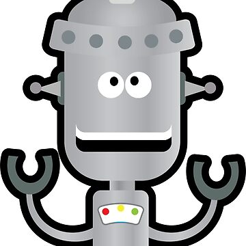 Silver Bot by robotmonsters