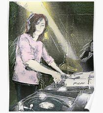 Lady DJ Poster