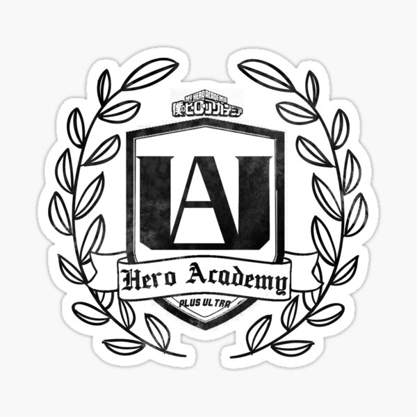 UA High School Cr Sticker