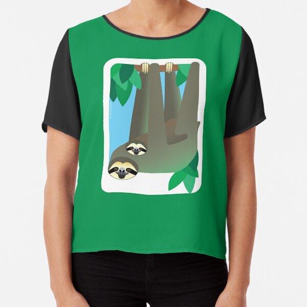 Sloth #2 Chiffon Top