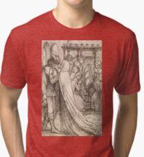 The Prince's Progress by Dante Gabriel Rossetti Tri-blend T-Shirt