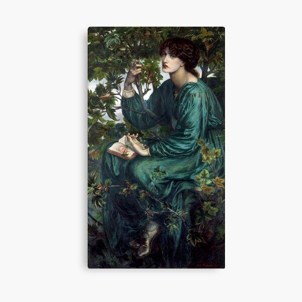 The Day Dream by Dante Gabriel Rossetti Canvas Print
