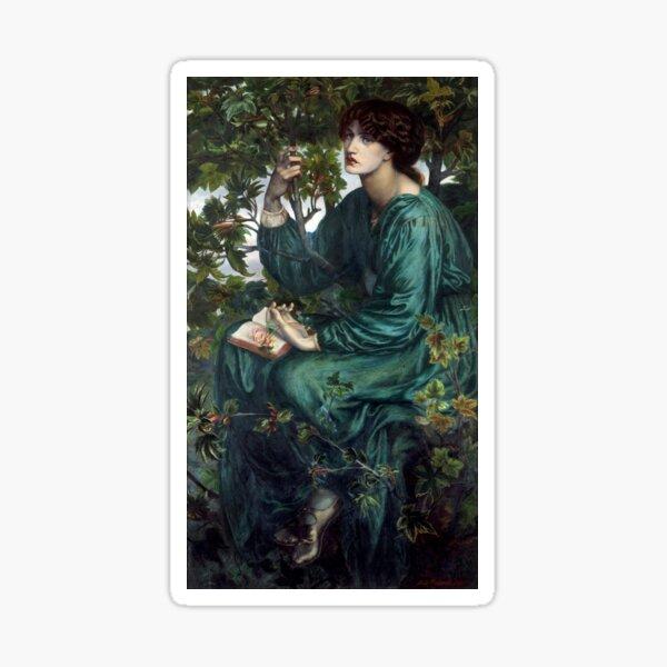 The Day Dream by Dante Gabriel Rossetti Sticker