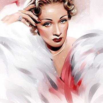 Marlene Dietrich by dbelov