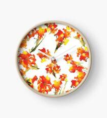 Floral Celebration Clock