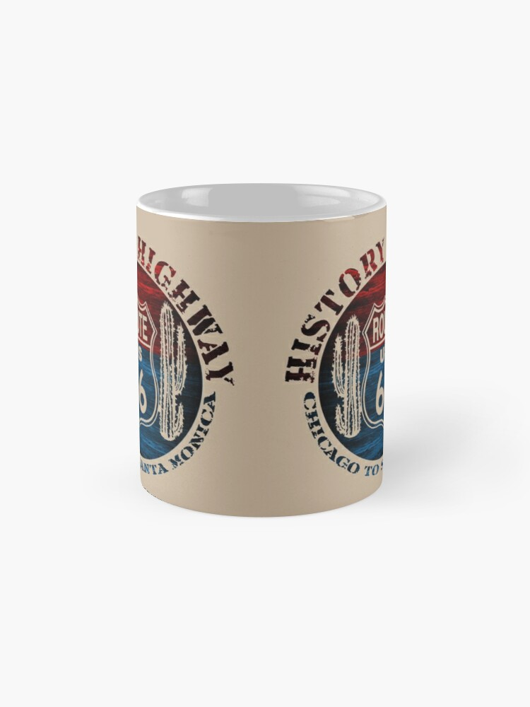 Alternate view of Route 66 The Great America Road Vintage Trip Perfect Gifts. Mugs