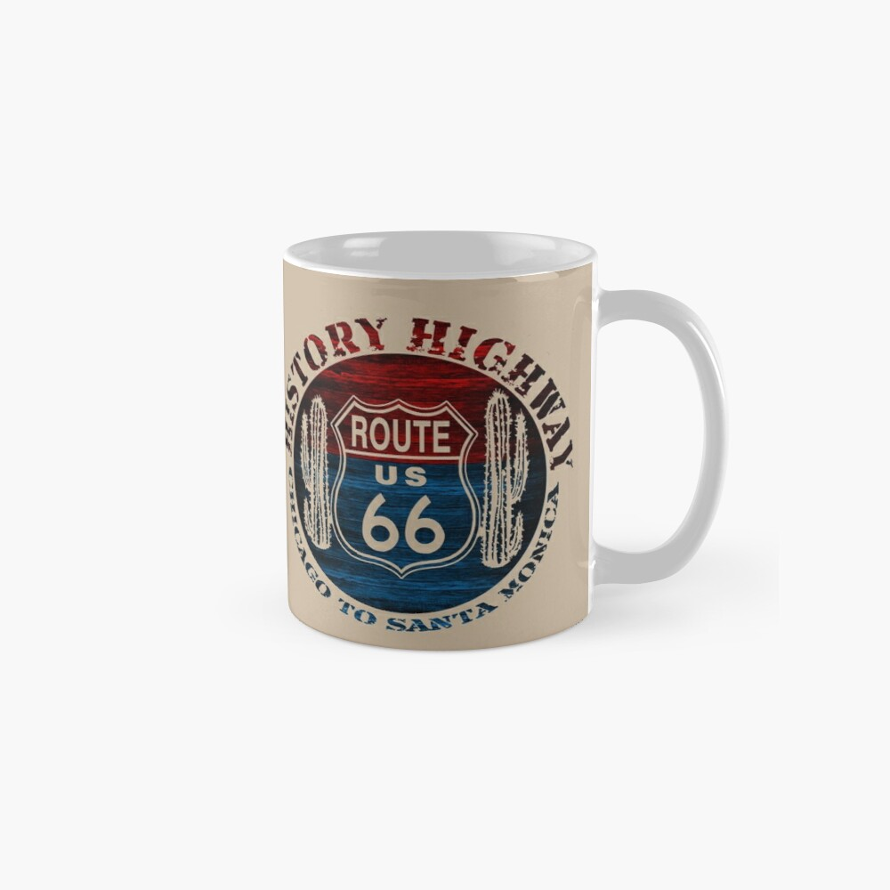 Route 66 The Great America Road Vintage Trip Perfect Gifts. Mugs