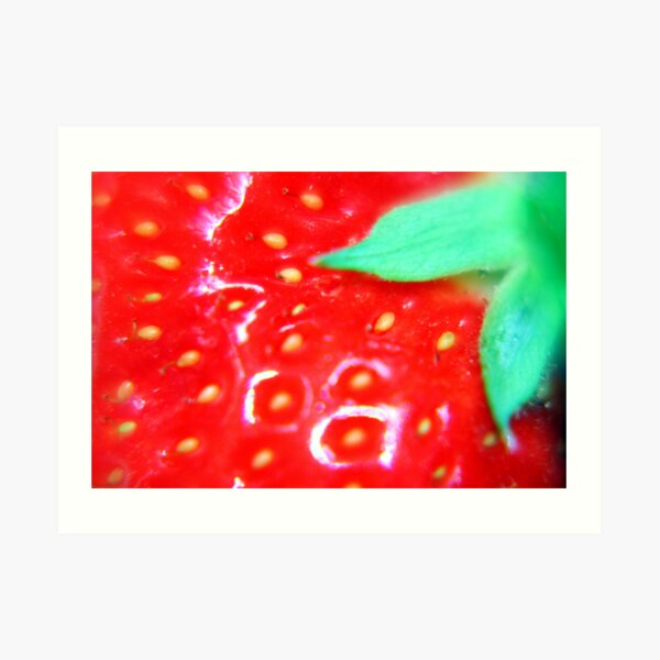 Strawberry Obsession Art Print