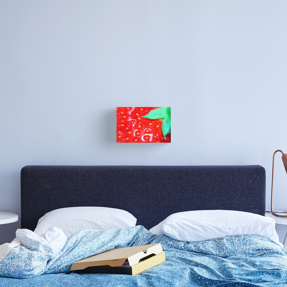 Strawberry Obsession Canvas Print