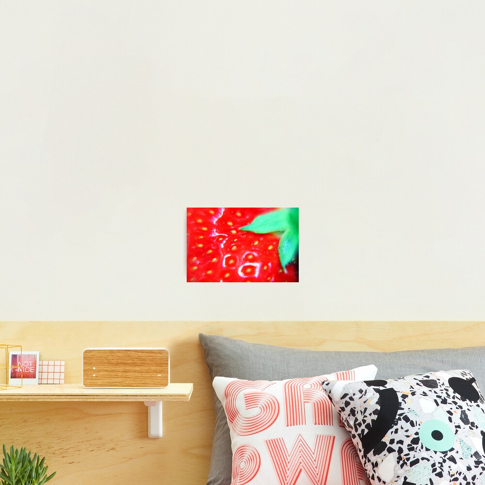Strawberry Obsession Photographic Print