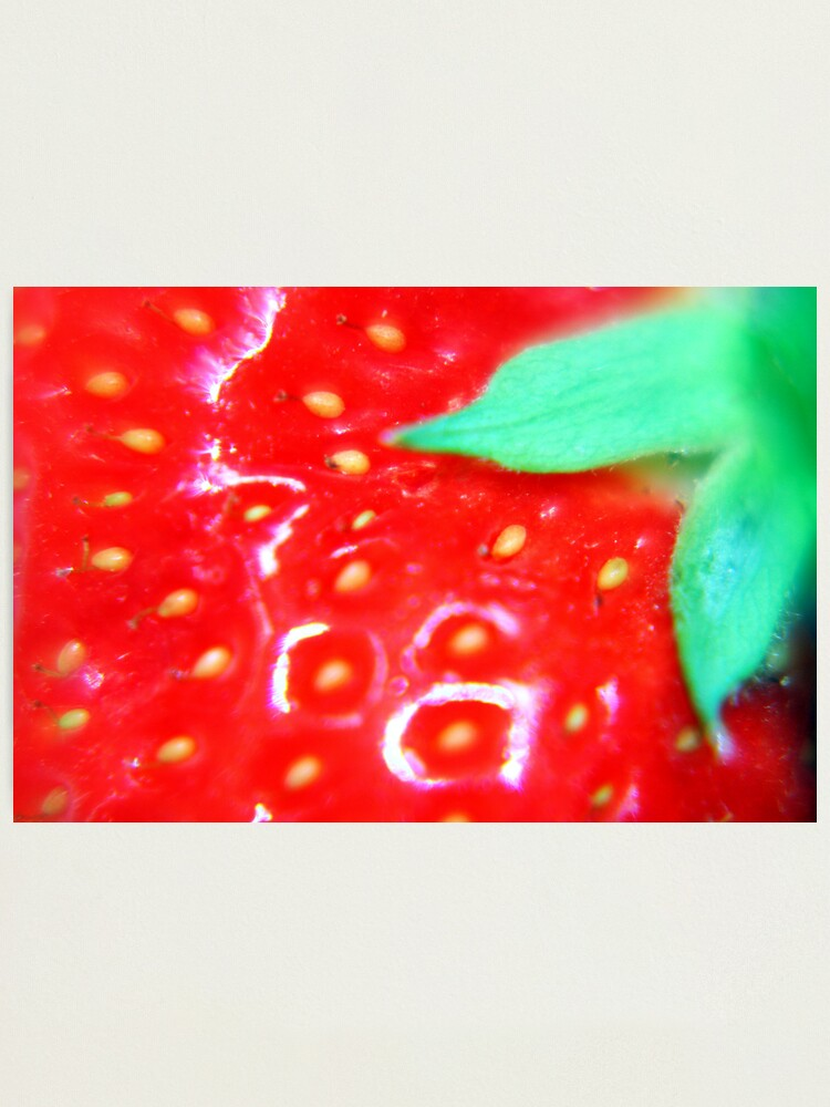 Alternate view of Strawberry Obsession Photographic Print