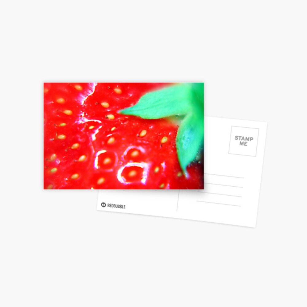 Strawberry Obsession Postcard