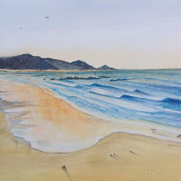 Sun set at Sisters beach Tasmania by Ian Shiel  by Ruckrova