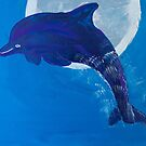 'Dolphin & The Moon' by Mia Begg (2018) by Peter Evans Art