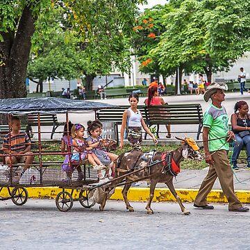 Cuba. Santa Clara. Goat Riders. by vadim19