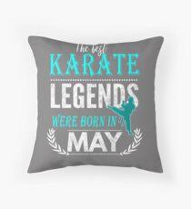Karate Legends werden im Mai geboren Bodenkissen