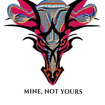 "Dragon Uterus -- ""It's mine, not yours."" by deborahsmith"