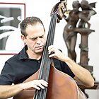 Cuba. Cienfuegos. Portrait of a Musician in High Key. by vadim19