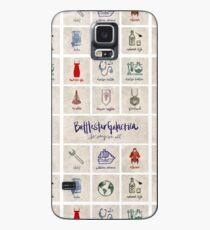 Battlestar Galactica - Minimalist Poster Case/Skin for Samsung Galaxy