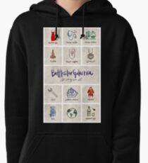 Battlestar Galactica - Minimalist Poster Pullover Hoodie