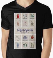 Battlestar Galactica - Minimalist Poster Men's V-Neck T-Shirt