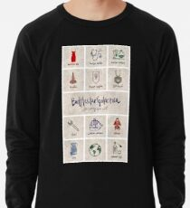 Battlestar Galactica - Minimalist Poster Lightweight Sweatshirt