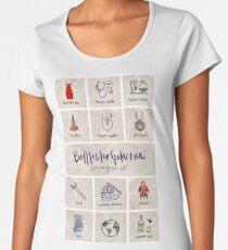 Battlestar Galactica - Minimalist Poster Women's Premium T-Shirt