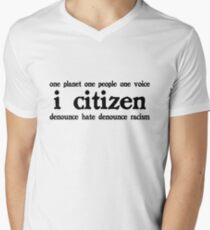 i citizen Men's V-Neck T-Shirt