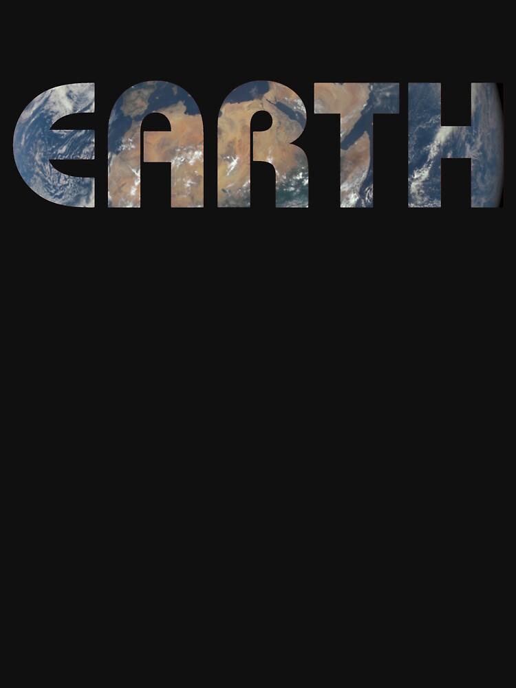 Planet Earth Photo Background Text by bigbadbear