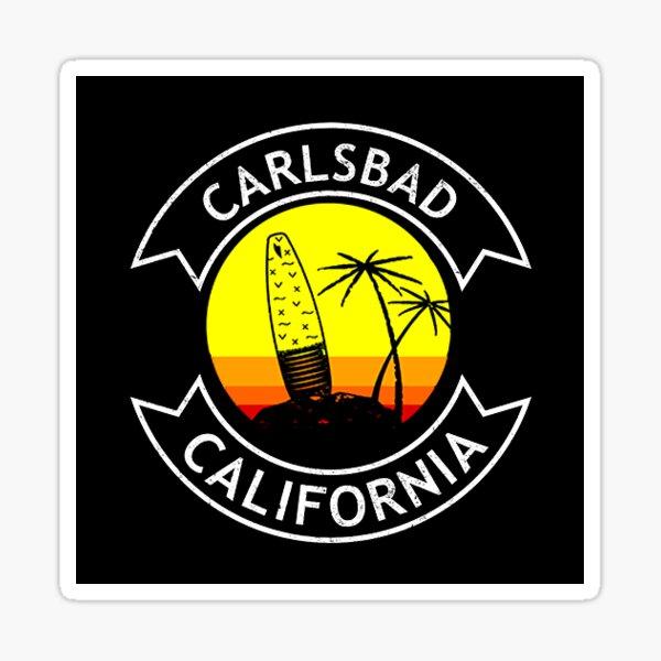 Carlsbad California Surf  Sticker
