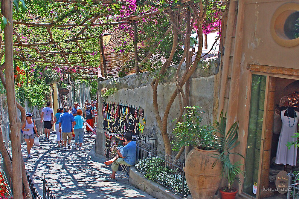 Positano Beautiful Street by longaray2
